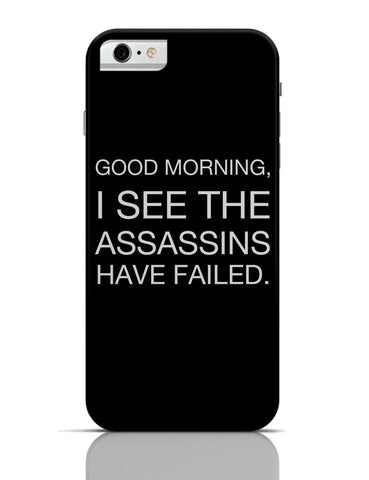 iPhone 6 Covers & Cases | Good Morning! Funny iPhone 6 Case Online India