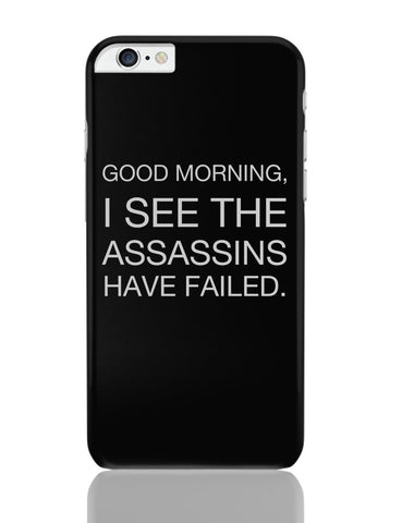 iPhone 6 Plus/iPhone 6S Plus Covers | Good Morning! Funny iPhone 6 Plus / 6S Plus Covers Online India