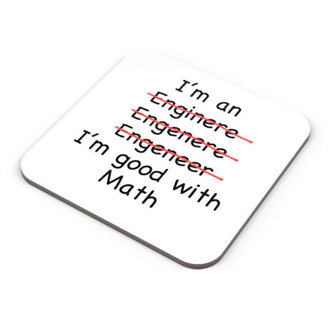 Buy Coasters Online | I Am An Engineer! Funny Coaster Online India | PosterGuy.in