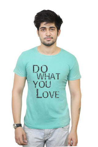 Buy Funny T-Shirts Online India | Do What You Love Motivational T-Shirt Funky, Cool, T-Shirts | PosterGuy.in