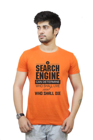 Buy Funny T-Shirts Online India | Nasscom 10000 Startups 'search Engine' T-Shirt Funky, Cool, T-Shirts | PosterGuy.in