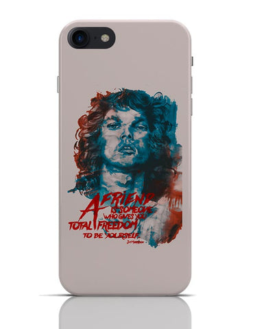 Jim Morrison A Friend is Someone Quote iPhone 7 Covers Cases Online India