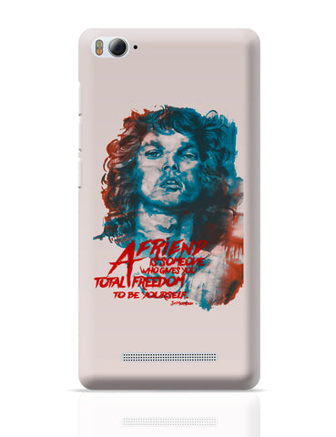 Xiaomi Mi 4i Covers | Jim Morrison A Friend is Someone Quote Xiaomi Mi 4i Cover Online India