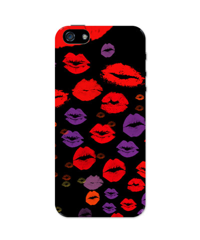 Quirky Lips Graphic Design iPhone 5 / 5S Case