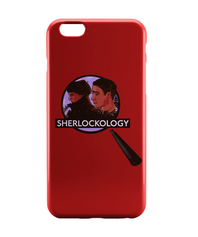 iPhone 6 Case & iPhone 6S Case | Sherlockology Sherlock Holmes Magnifying Glass iPhone 6 | iPhone 6S Case Online India | PosterGuy