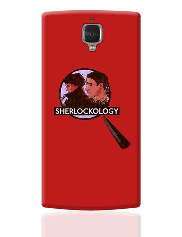 Sherlockology Sherlock Holmes Magnifying Glass OnePlus 3 Cover Online India