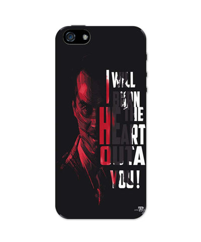 I Will Burn the Heart Outta You Jim Moriarty Sherlock Holmes iPhone 5 / 5S Case