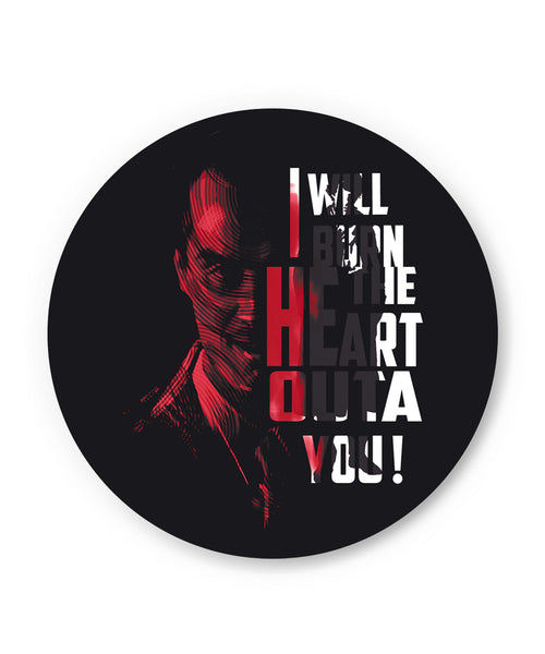 I Will Burn the Heart Outta You Jim Moriarty Sherlock Holmes Fridge Magnet Online India