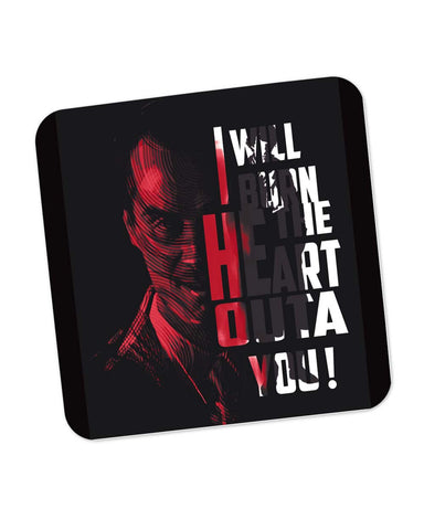 I Will Burn the Heart Outta You Jim Moriarty Sherlock Holmes Coaster Online India