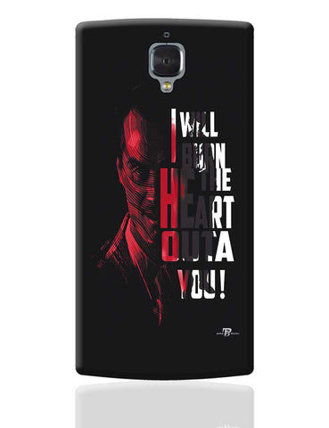 I Will Burn the Heart Outta You Jim Moriarty Sherlock Holmes OnePlus 3 Cover Online India