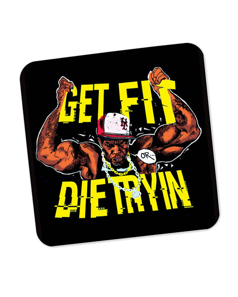 Get Fit or Die Trying 50 Cent Coaster Online India