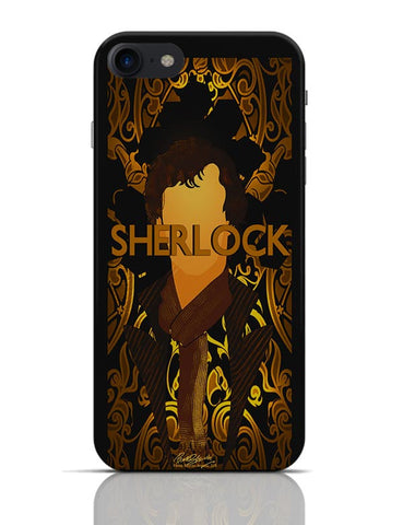 Benedict Cumberbatch Sherlock Holmes Illustration iPhone 7 Covers Cases Online India