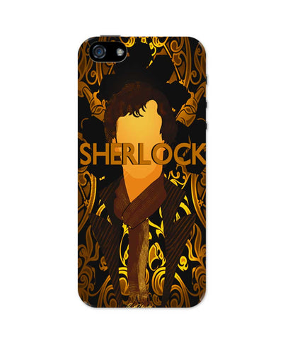 Benedict Cumberbatch Sherlock Holmes Illustration iPhone 5 / 5S Case