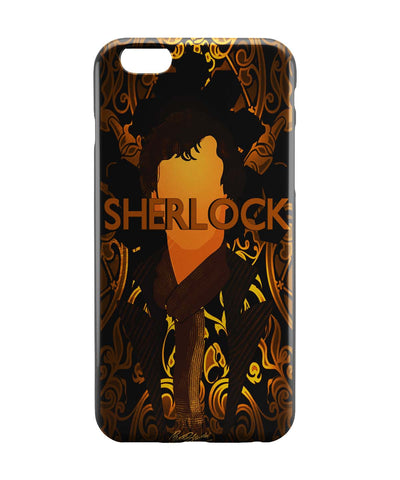 iPhone 6 Case & iPhone 6S Case | Benedict Cumberbatch Sherlock Holmes Illustration iPhone 6 | iPhone 6S Case Online India | PosterGuy