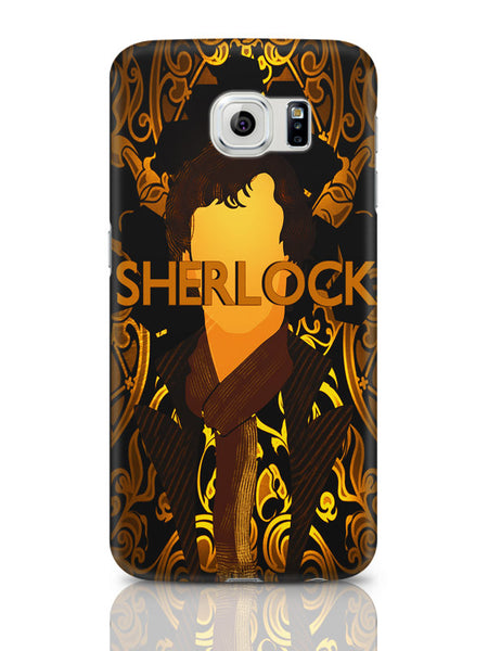 Samsung Galaxy S6 Covers & Cases | Benedict Cumberbatch Sherlock Holmes Illustration Samsung Galaxy S6 Covers & Cases Online India