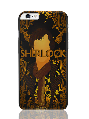 iPhone 6 Plus / 6S Plus Covers & Cases | Benedict Cumberbatch Sherlock Holmes Illustration iPhone 6 Plus / 6S Plus Covers and Cases Online India