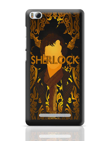Xiaomi Mi 4i Covers | Benedict Cumberbatch Sherlock Holmes Illustration Xiaomi Mi 4i Cover Online India