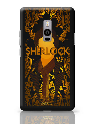 OnePlus Two Covers | Benedict Cumberbatch Sherlock Holmes Illustration OnePlus Two Cover Online India