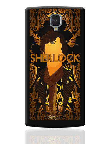 Benedict Cumberbatch Sherlock Holmes Illustration OnePlus 3 Cover Online India
