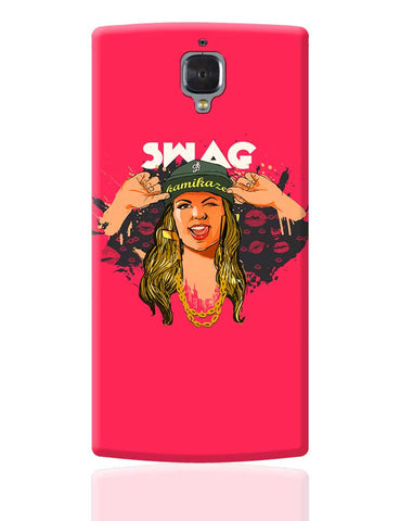 Swag Quirky Illustration OnePlus 3 Cover Online India