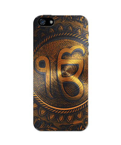 iPhone 5 / 5S Cases & Covers | Ek Onkar Graffiti Religious iPhone 5 / 5S Case Online India