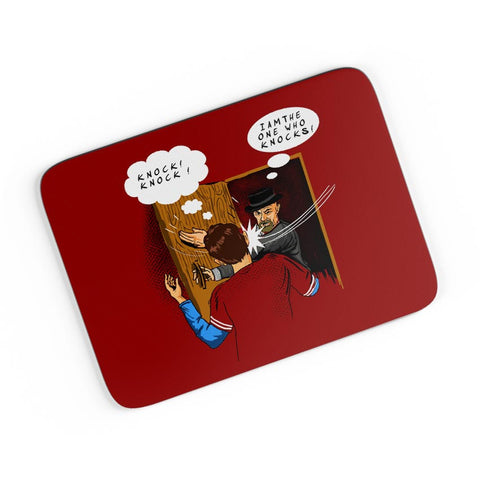 I Am The One Who Knocks A4 Mousepad Online India