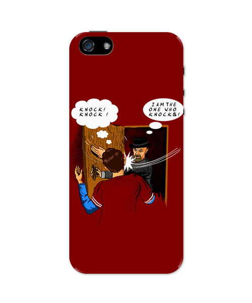iPhone 5 / 5S Cases & Covers | I Am The One Who Knocks | Slap Funny iPhone 5 / 5S Case Online India