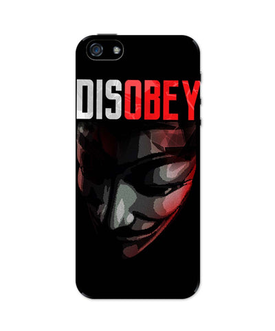 iPhone 5 / 5S Cases & Covers | Disobey | Anonymous V For Vendetta iPhone 5 / 5S Case Online India