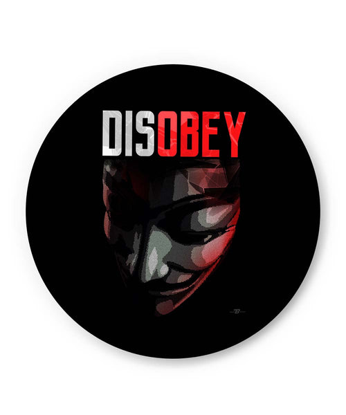 PosterGuy | Disobey | Anonymous V For Vendetta Fridge Magnet 1433236019-fm Online India