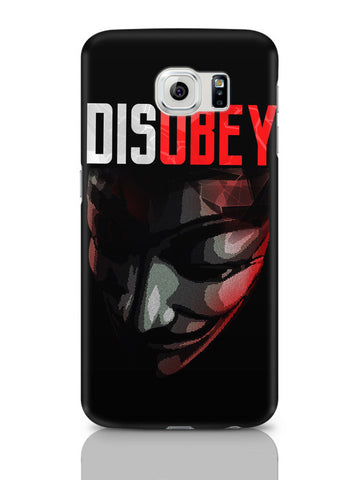 Samsung Galaxy S6 Covers & Cases | Disobey | Anonymous V For Vendetta Samsung Galaxy S6 Covers & Cases Online India