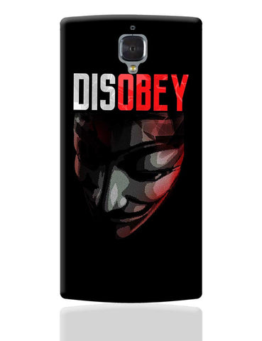 Disobey | Anonymous V For Vendetta OnePlus 3 Cover Online India