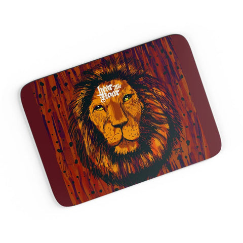Hear Me Roar Lion Illustration A4 Mousepad Online India