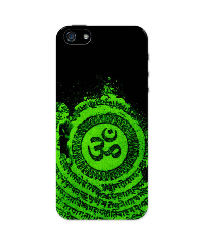 iPhone 5 / 5S Cases & Covers | Om Typography Illustration iPhone 5 / 5S Case Online India