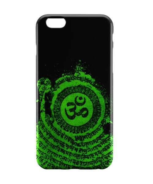 iPhone 6 Case & iPhone 6S Case | Om Typography Illustration iPhone 6 | iPhone 6S Case Online India | PosterGuy