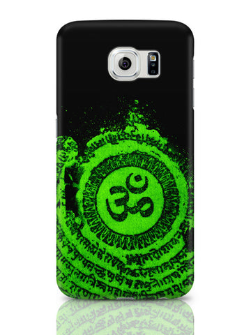 Samsung Galaxy S6 Covers & Cases | Om Typography Illustration Samsung Galaxy S6 Covers & Cases Online India