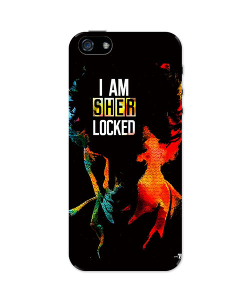 iPhone 5 / 5S Cases & Covers | I am Sherlocked | BBC Sherlock iPhone 5 / 5S Case Online India