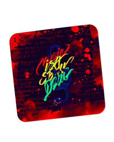 Buy Coasters Online | Music Is A Sexy Drug Coaster Online India | PosterGuy.in