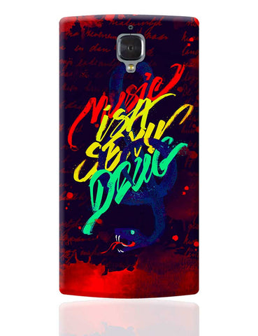 Music Is A Sexy Drug OnePlus 3 Cover Online India