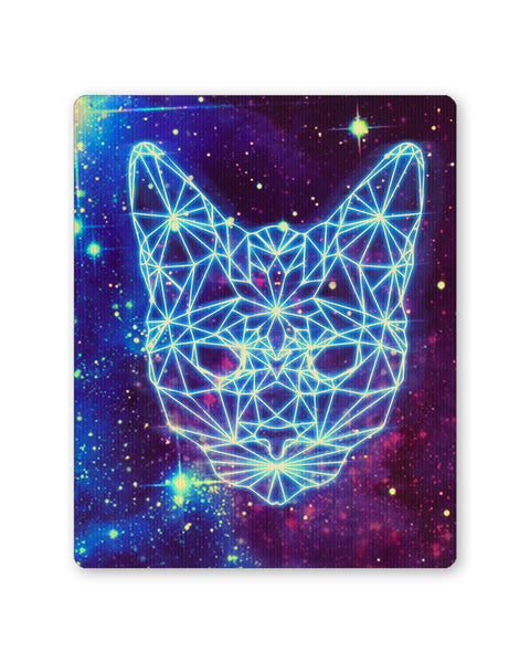Buy Mousepads Online India | Cushy Cat Universe in Sky Quirky Mouse Pad Online India