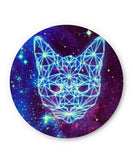 PosterGuy | Cushy Cat Universe in Sky Quirky Fridge Magnet 1433314519-fm Online India