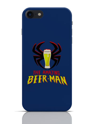 The Amazing Beer Man Spiderman Parody iPhone 7 Covers Cases Online India