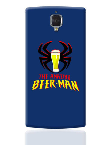 The Amazing Beer Man Spiderman Parody OnePlus 3 Cover Online India