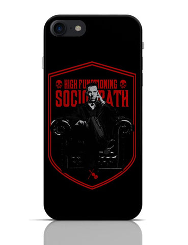 High Functioning Sociopath | BBC Sherlock Inspired iPhone 7 Covers Cases Online India