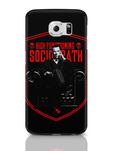 Samsung Galaxy S6 Covers & Cases | High Functioning Sociopath | Bbc Sherlock Inspired Samsung Galaxy S6 Covers & Cases Online India