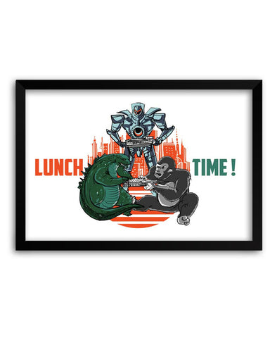 Godzilla Framed Poster Online India
