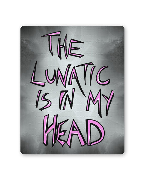 Mouse Pads | Pink Floyd The Lunatic is in my Head Brain Damage Mouse Pad Online India | PosterGuy.in