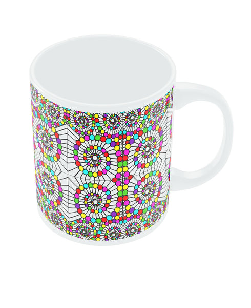 Geometric Circle Art Coffee Mug Online India