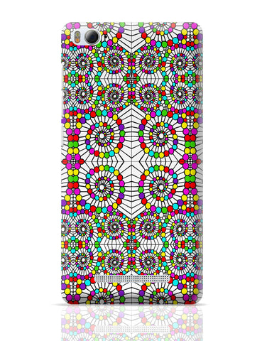 Xiaomi Mi 4i Covers | Geometric Circle Art Xiaomi Mi 4i Cover Online India