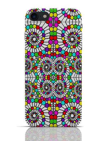 Geometric Swirl Pattern Circle Art iPhone 7 Covers Cases Online India