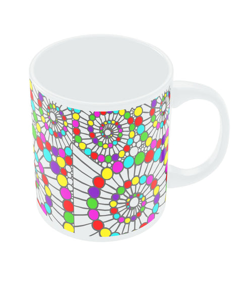 Mosaic Glass  Coffee Mug Online India